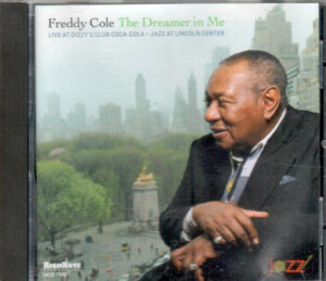 Freddy Cole The Dreamer In Me Autographed CD